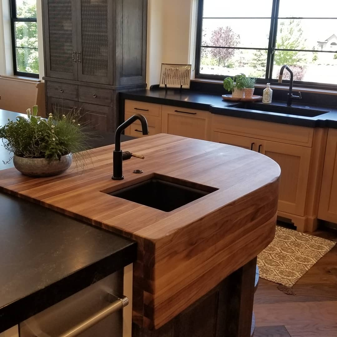 new sink installation in modern home
